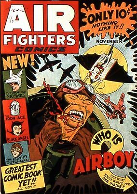 Airboy Comics Air Fighters Collection 108 Issues On Dvd