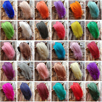 Wholesale 20-100pcs Natural Goose Feather 15-20 cm/6-8 inch DIY Jewelry Decorate