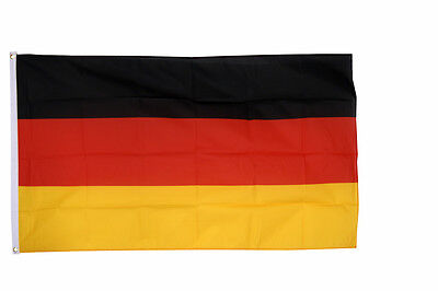 GERMANY GIANT FLAG 8 x 5 FT -  Massive Huge German National Country