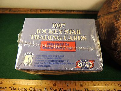 1997 Never Opened Pristine Mint Conditio 1997 Jockey Star Trading Cards 220 Card