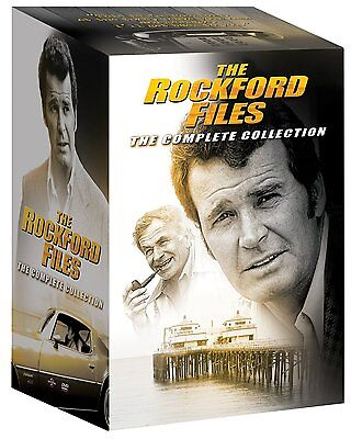 The Rockford Files Complete Series Seasons 1 - 6 + All Movies DVD Boxed Set NEW!