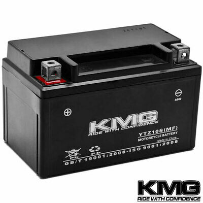 NEW High Performance 12V SMF Battery KMG Replacement YTZ10S Maintenance Free