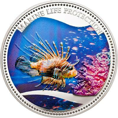 """Palau """"Rotfeuerfisch"""" in Farbe - 1 Dollar 2009 - Prooflike"""