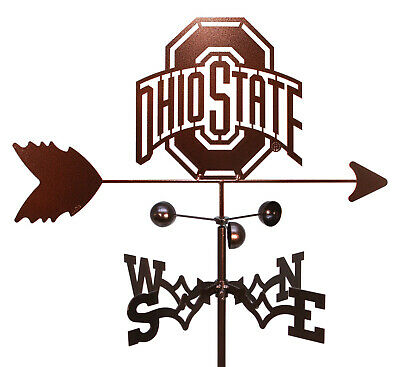 SWEN Products OHIO STATE BUCKEYES Steel Weathervane