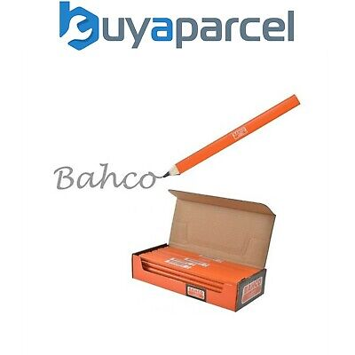 Bahco P-HB HB Grade Carpenters Pencils 20 Pack Orange High Grade
