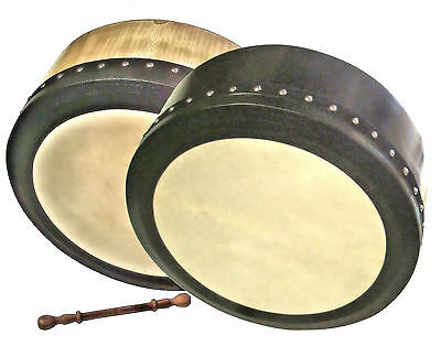 "Ferris Tunable Deep 16"" Bodhran With Case & Beater Bodhrán SALE £ 99.99"