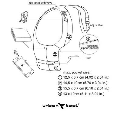 UrbanTool basicHolster Urban Tool holster für iPhone