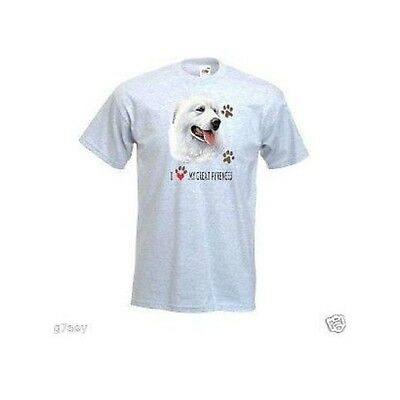 I Love My Great Pyrenees Mountain Dog Design T-Shirt
