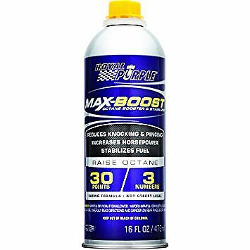 Royal Purple 11757 Max-Boost Octane Booster and Stabilizer - 16oz.
