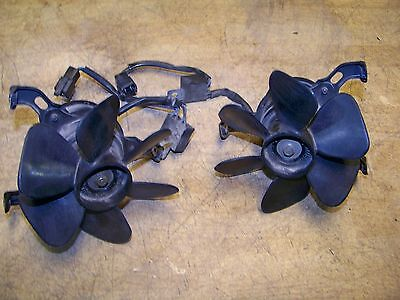 1988 - 2000 Honda GL1500 GL 1500 Goldwing Radiator Cooling Fans