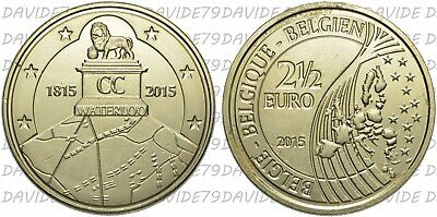 2,5C2015Be] Belgio - 2,50 Euro 2015 - La Battaglia Di Waterloo _ Fdc
