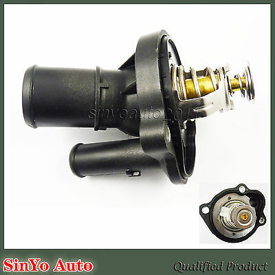 L33615170 Thermostat Housing Assembly Water Outlet For Mazda Lincoln Mercury