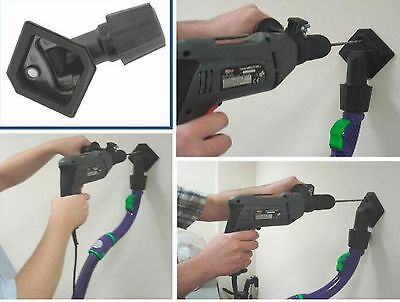 UNIVERSAL VACUUM CLEANER DRILL DUST CATCHER DRILLING TOOL hoover