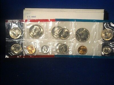 1980 Us Uncirculated Mint Set 13 Coins In Original Us Mint Packaging