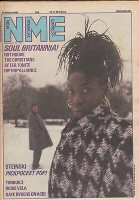 New Musical Express NME M people,Gaye Bykers on acid 31st Jan 1987