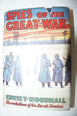 WW1 British Spies of the Great War Reference Book