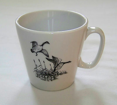 Restaurant Ware: SHENANGO - Geese Flying over Marsh - 6oz CUP  P-31