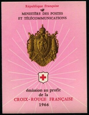 France 1966 Carnet Croix-Rouge N°2015 NEUF ** LUXE