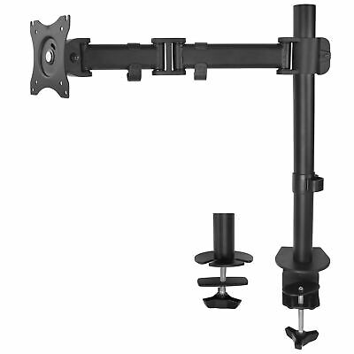 VIVO Single Monitor Arm Fully Adjustable Desk Mount Stand For 1 Screen up to 32""
