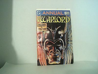 Enter the Lost World of the Warlord DC Comics Annual #5 vintage comic book