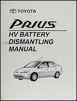 03 2003 toyota prius owners manual • 17 95 picclick toyota prius battery safe removal manual 2001 2002 2003 dismantling book