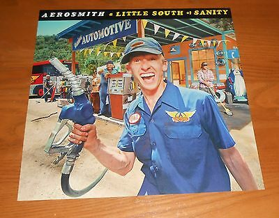 Aerosmith a Little South of Sanity Poster 2-Sided Flat Square 1998 Promo 12x12