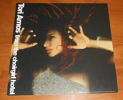 Tori Amos From the Choirgirl Hotel Poster 2-Sided Flat 1998 Promo 12x12 RARE