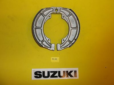 40-603  Emgo SUZUKI FRONT/REAR BIKE BRAKE SHOES 602 NEW NON GROOVED