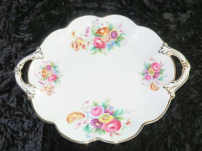 Vintage Fine China Cake or Fancy Plate George Jones & Sons Crescent Ware 1939