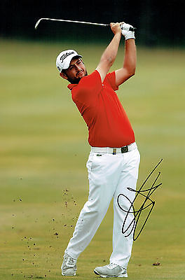 Alexander LEVY 12x8 Photo Signed Autograph French Golfer AFTAL COA