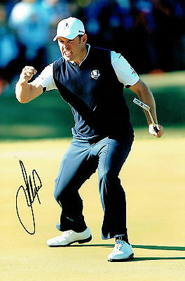 Lee WESTWOOD 12x8 Photo Signed Autograph Ryder Cup GOLF Winner AFTAL COA