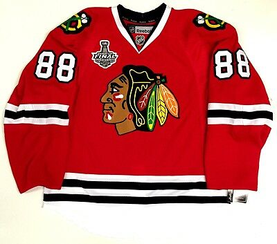 c180e5718 Patrick Kane Chicago Blackhawks 2015 Cup Reebok 7287A Edge Authentic Jersey