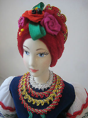Very Nice Ukrainian HAND MADE Porcelain Doll