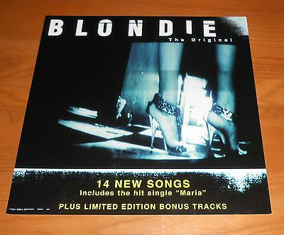 Blondie No Exit Poster 2-Sided Flat Square Promo 12x12