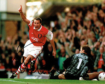 Paul MERSON SIGNED Autograph 10x8 Photo Arsenal Legend AFTAL COA