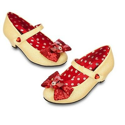 Disney Store Classic Minnie Mouse Shoes for Girls Childrens  9/10