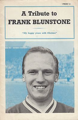 (44292) CLEARANCE A Tribute to Frank Bluntsone 1962/3 Chelsea