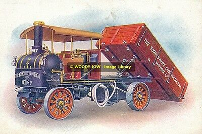 rp12946 - Yorkshire Commerrcial Steam Lorry - photograph 6x4