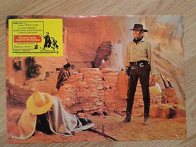 ONCE UPON A TIME IN THE WEST Sergio Leone - rare Spanish LC #8 CARDINALE / FONDA
