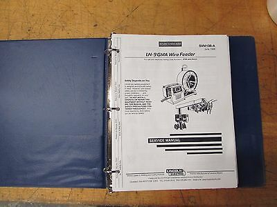 Lincoln Electric LN-9 GMA Wire Feeder Service Manual