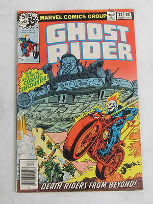Ghost Rider #33 December 1978 By Marvel Comics Very Good (4.0)