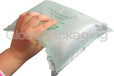 25 x LARGE Biodegradable Green Air Pillows Cushions Void Loose Fill 200x200mm