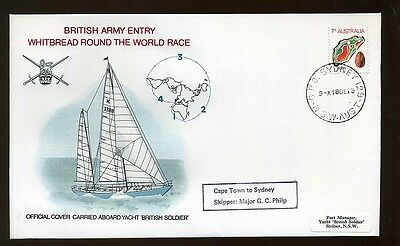 1973 British Army Round the World Yacht Race  Cape Town Sydney Sailing