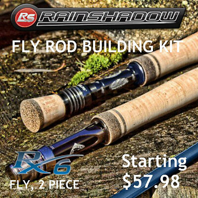 Rainshadow RX6 Fly Rod Building Kit 2 Piece
