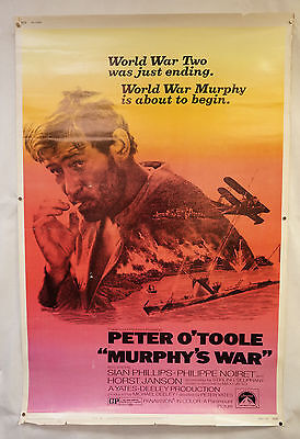 Murphey's War Original Movie Poster 1971 Peter O'Toole