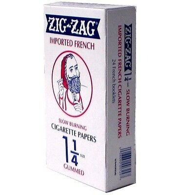 Zig Zag Orange 1.25 Cigarette Papers 24 Booklets Authentic