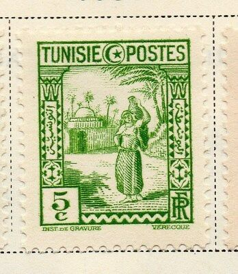 Tunisia 1931 Early Issue Fine Mint Hinged 5c. 144801
