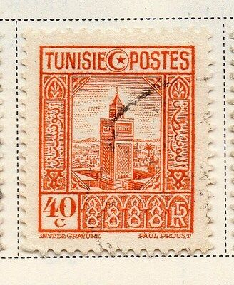 Tunisia 1931 Early Issue Fine Used 40c. 144806