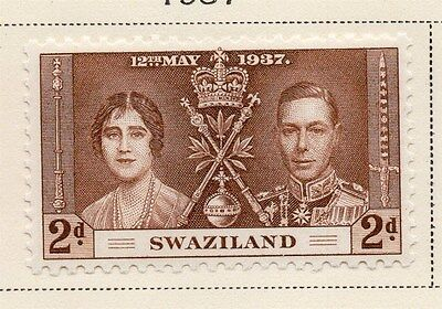Swaziland 1937 Early Issue Fine Mint Hinged 2d. 144889