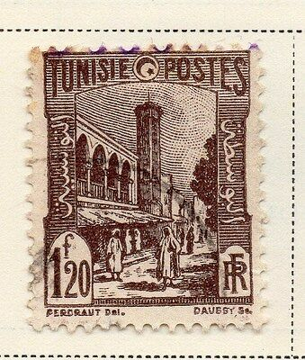 Tunisia 1942-46 Early Issue Fine Used 1F.20c. 144835